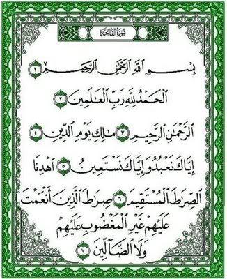 Ternyata Surah Al Fatihah Bisa Digunakan Untuk Obat Segala Penyakit.