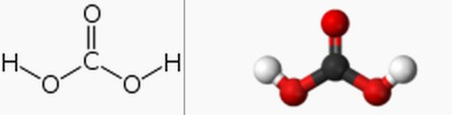 Rumus Kimia Asam Karbonat