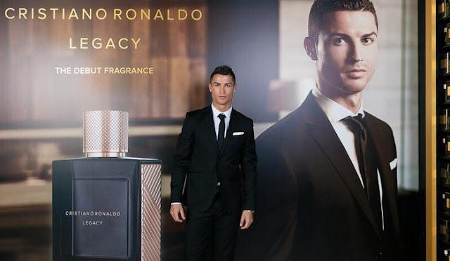 Cristiano Ronaldo lanza su primer perfume