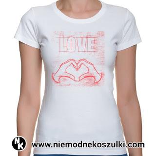 koszulka LOVE