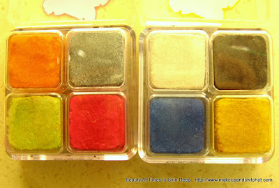 The Body Shop Shimmer Cubes Spring Collection Palettes 31 and 32