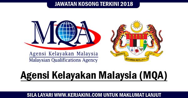 jawatan kosong agensi kelayakan malaysia 2018