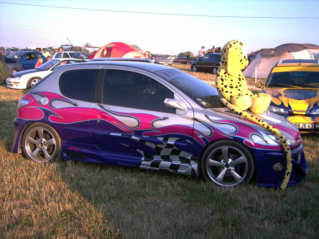 tuning cars and news peugeot 206 tuning. Black Bedroom Furniture Sets. Home Design Ideas