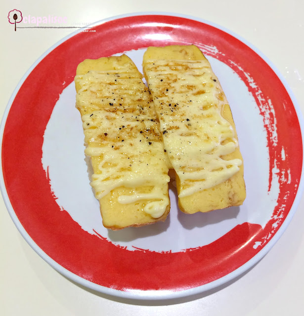 Seared Tamago Black Pepper from Genki Sushi