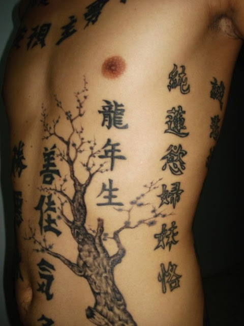 people love these kanji tattoos especially girls