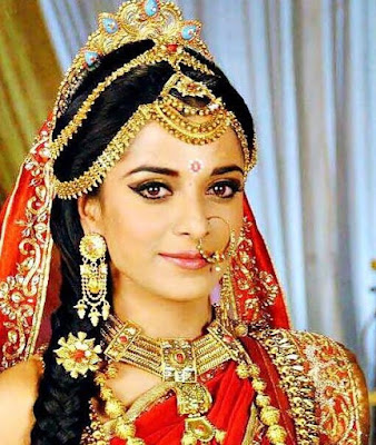 Pooja Sharma -Actress as Drauapti in Mahabharat