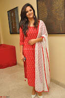 Anasuya Bharadwaj in Red at Kalamandir Foundation 7th anniversary Celebrations ~  Actress Galleries 006.JPG