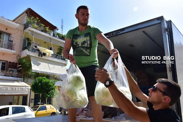 Σε εξέλιξη η διανομή της Επισιτιστικής και Βασικής Υλικής Συνδρομής στους δικαιούχους σε Άργος και Ναύπλιο