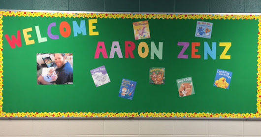 Our Day With Author/Illustrator Aaron Zenz