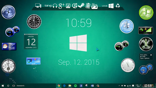 Windows 10 Gadget
