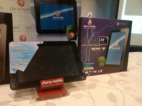 Cherry Mobile Fusion Bolt 7-inch HD Quadcore Android Tablet for only 3,999 Pesos