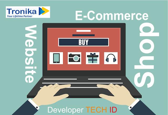 Tronika - Website Toko Elektronik Cocok untuk Anda