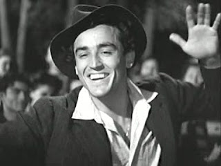 Vittorio Gassman in the 1948 movie Riso amaro, which provided him with his breakthrough as a screen actor