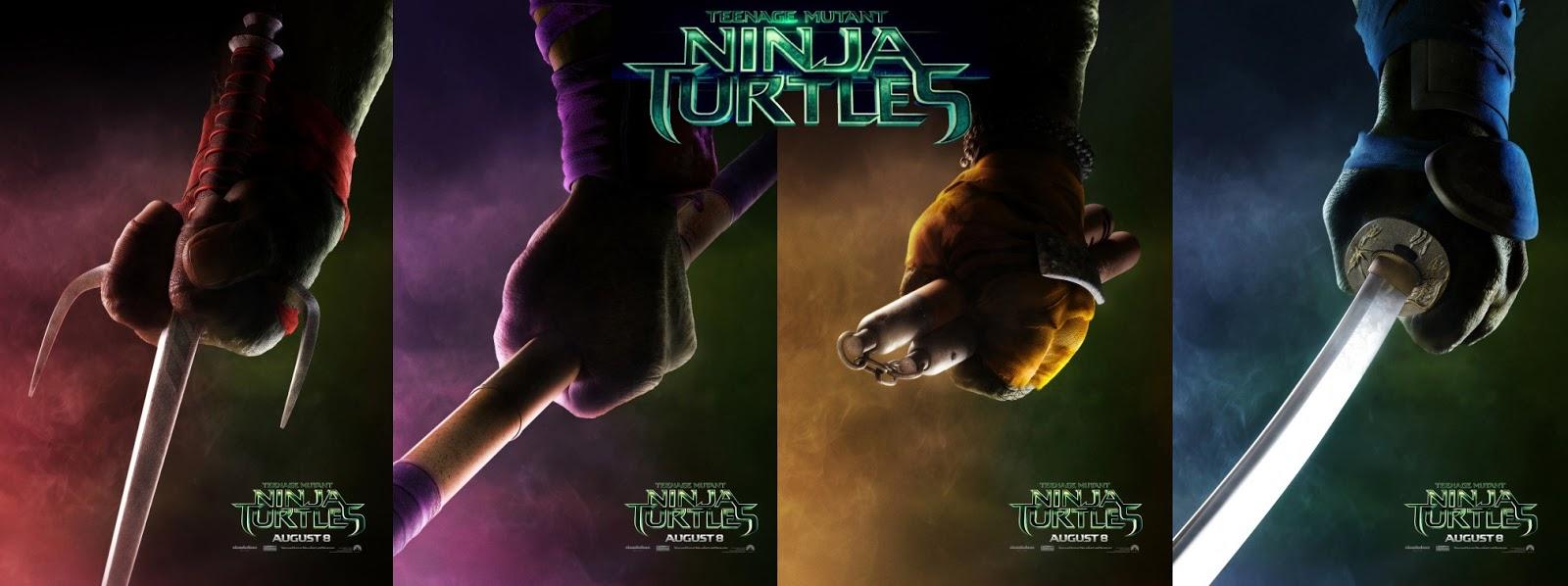 Dcf Blog Teenage Mutant Ninja Turtles 2014 Splinter Shredder And Ninja Blings