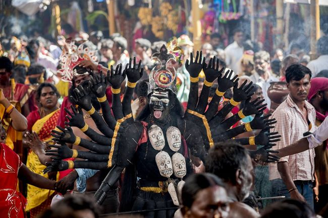 Dasara Festival At Kulasekharapattinam