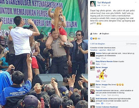 Astaghfirullah, Oknum Polisi Gendong Artis Vulgar, Tito Diminta Tanggung Jawab