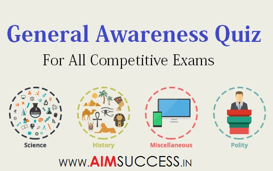 General Awareness Questions for SSC CHSL 2018: 21st March
