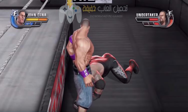 تحميل لعبة مصارعة WWE للكمبيوتر برابط مباشر