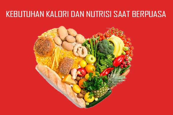 Kalori dan Nutrisi Yang Dibutuhkan Tubuh Saat Puasa Ramadhan
