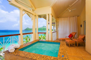 Beachfron Jacuzzi Suite, the Landings Resort, St. Lucia