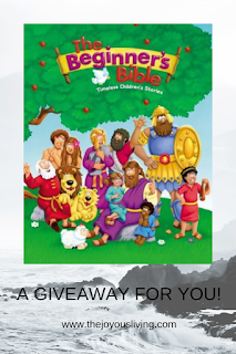 Have you entered The Joyous Living's giveaway for a new The Beginner's Bible?