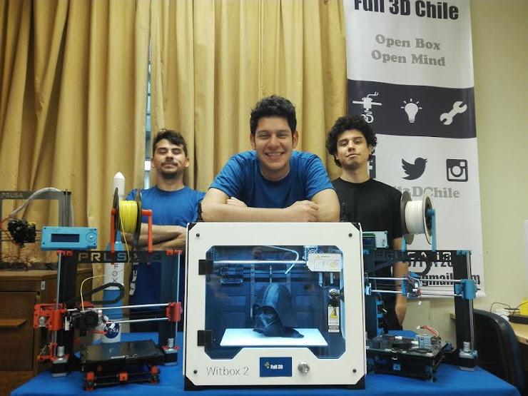 FULL 3D,  un emprendimiento que quiere cambiar la forma de imprimir en Chile y Latam