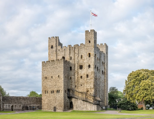 Norman Castle in England