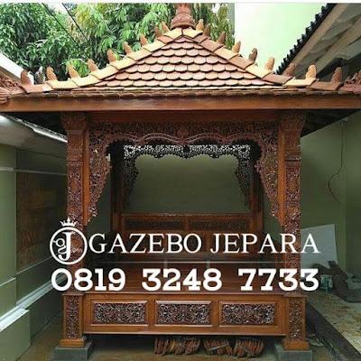Gazebo Ukir Jepara