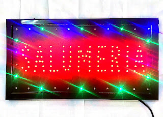 insegne luminose a led salumeria