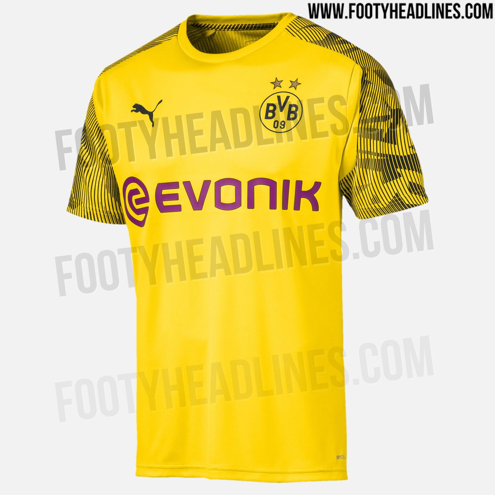 Borussia Dortmund 19 20 Training Kits Leaked Footy Headlines