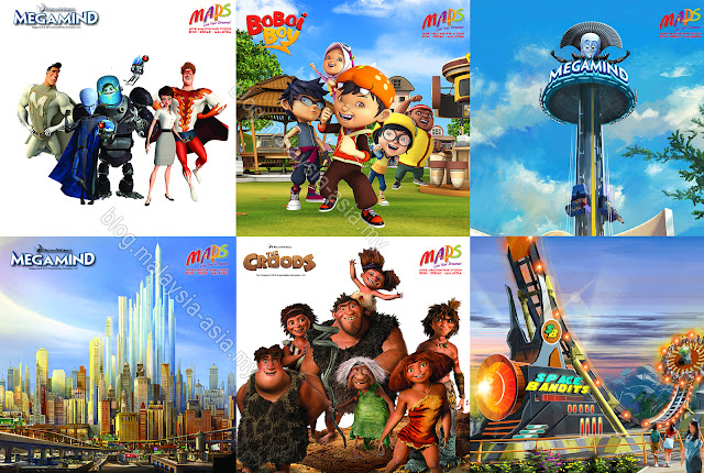 Movie Animation Park Studios Attractions
