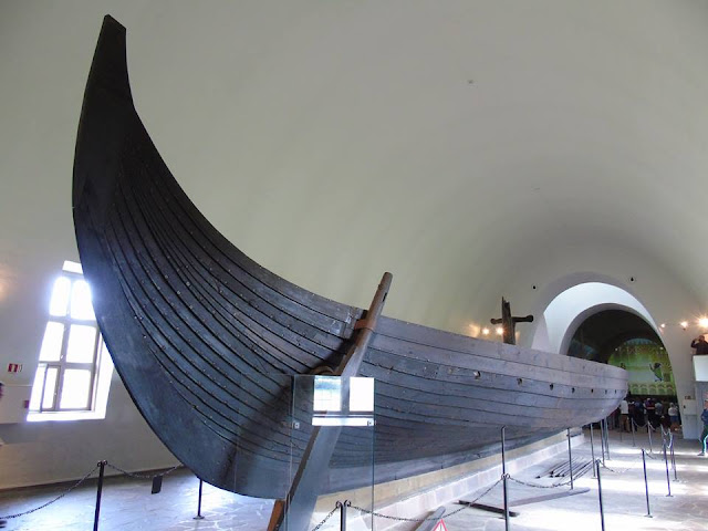 The Gokstad Ship, Viking Ship Museum, Oslo Norway