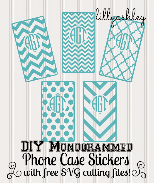 free chevron cutting file freebies for iPhone case