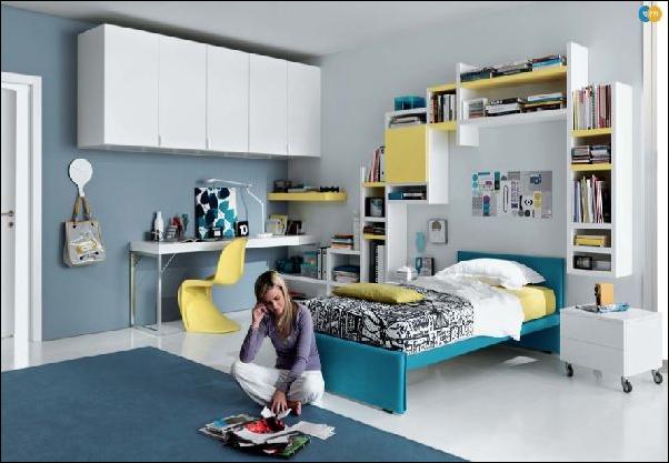 Key interiors by shinay cool modern teen girl bedrooms - Cool teen room ideas ...