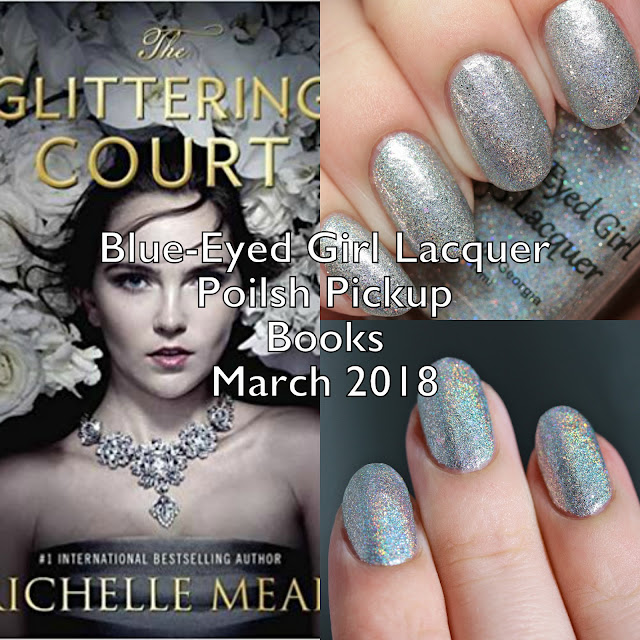 Blue-Eyed Girl Lacquer Polish Pickup Books March 2018