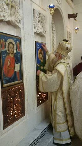 Syrian Melkite church restored in Iraq