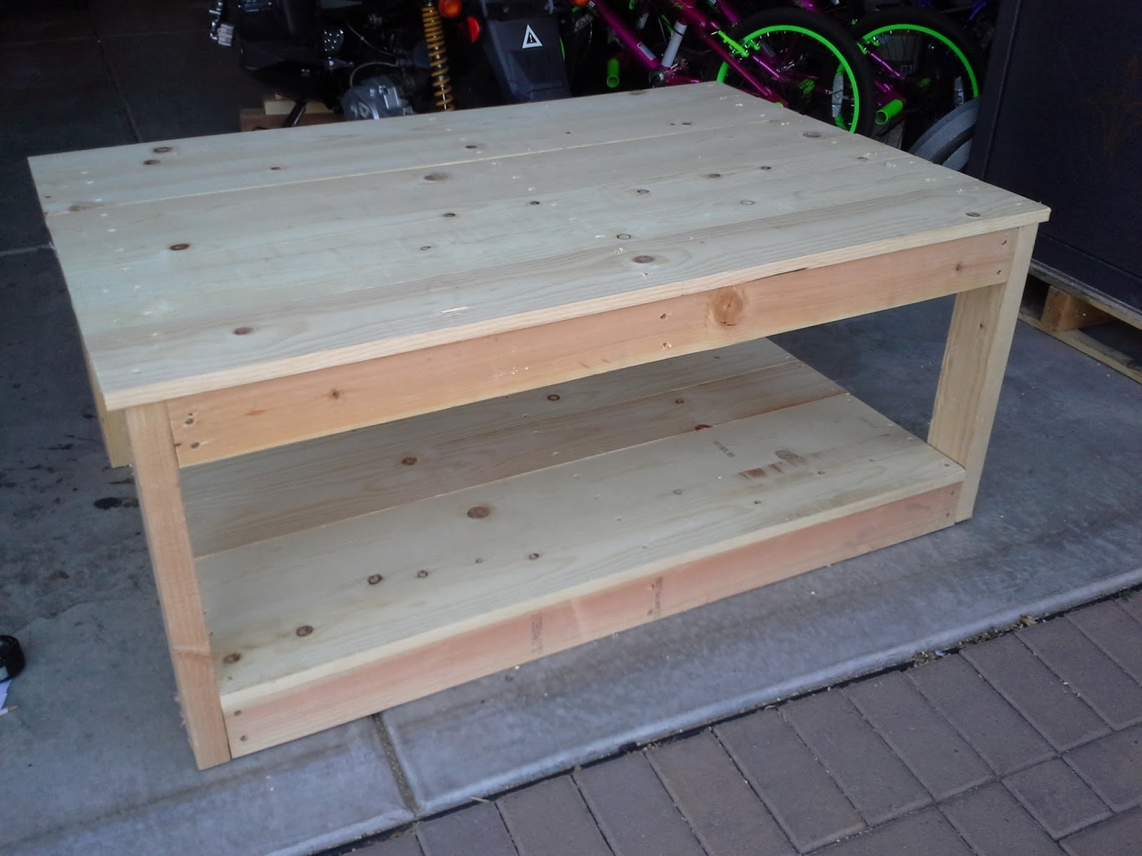 Turning Stones Blog: Homemade Coffee Table