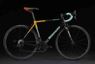 Nuova Bianchi Specialissima dedicata alla vittoria di Pantani a Oropa