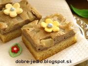 Tvarohový koláč s hruškami - recept