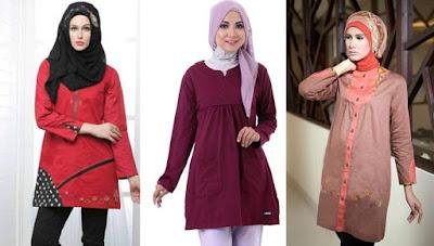 baju tunik muslim murah