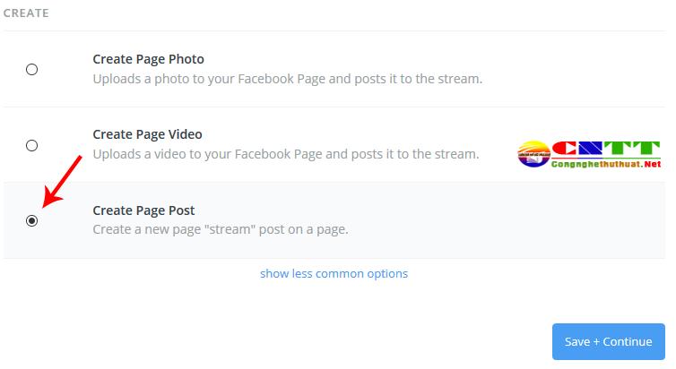 liên kết tài khoản facebook voi zapier