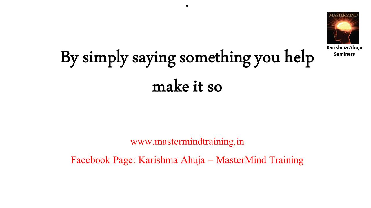 Dr  Karishma Ahuja, PhD: Your #Wish is my Command, Says the
