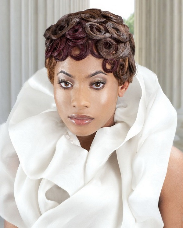 Wedding Hairstyles Dark Hair: Bridal Hairstyles For Black Women