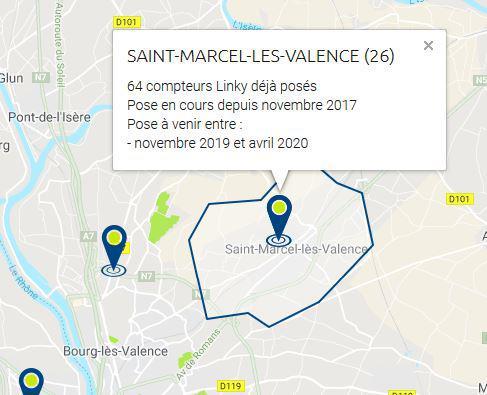 Calendrier De Deploiement De Linky.Linky Sous Haute Tension Le Blog De St Marcel Les Valence