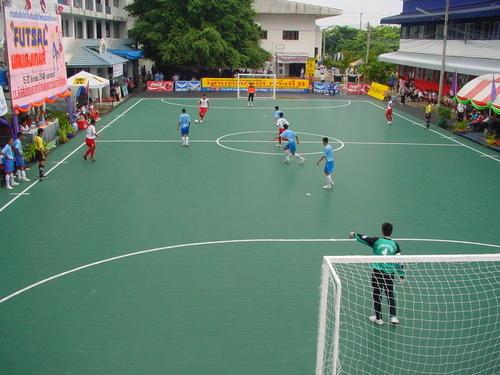 Rencana Anggaran Lapangan Futsal Outdoor Dengan Plesteran