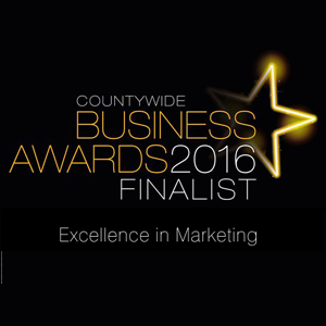 Laban Brown Design are Excellence in Marketing Finalists at the Countywide Essex Business Awards 2016