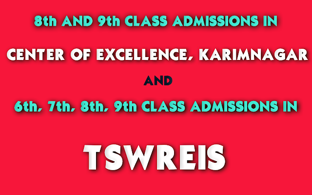 TSWREIS-6th-to-9th-Class-Admission-and-COE-8th-9th-Class-Admission-Notification
