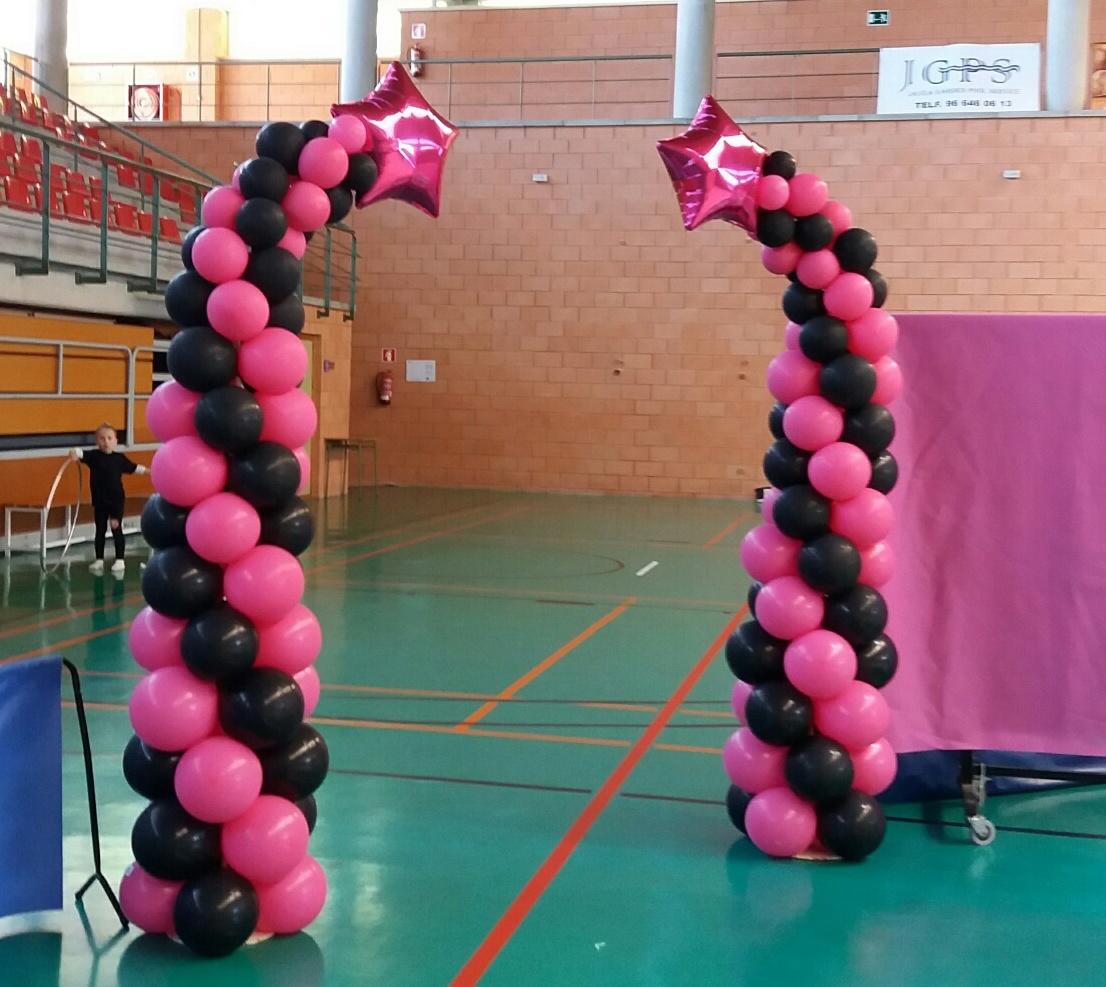 Decoraci n con globos de todo fiesta for Decoracion deportiva
