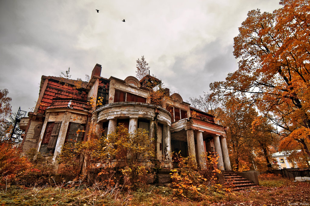 Tenebrous Magazine - The Blog: Abandoned Houses, Antiques And The
