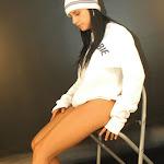 Andrea Rincon, Selena Spice Galeria 19: Buso Blanco y Jean Negro, Estilo Rapero Foto 71